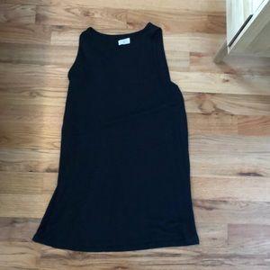 Lou & Grey black knit sleeveless dress